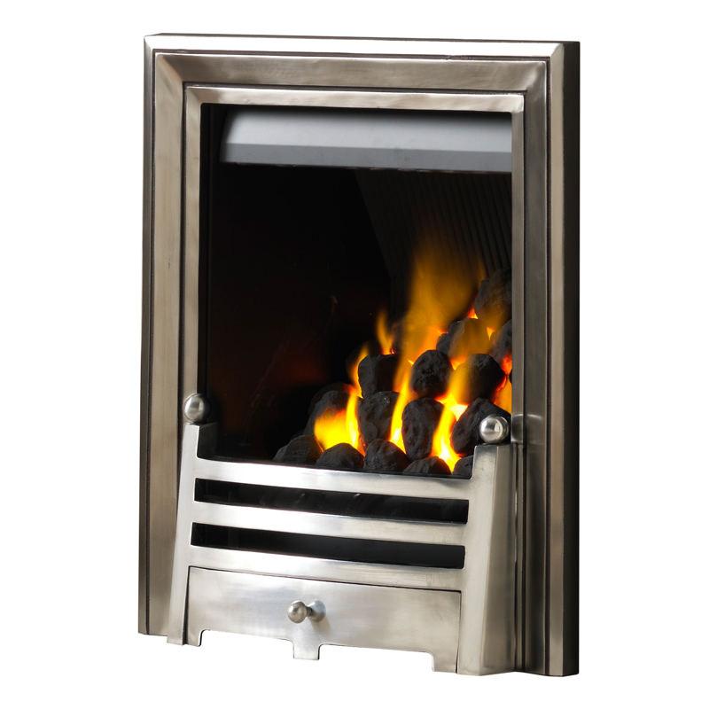 PureGlow Charlotte Slimline Gas Fire | Marble Fireplaces