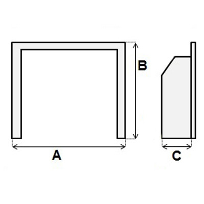 Wide fire diagram. A,B,C list